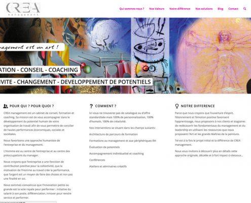 Site Creamanagement fait par lib-rdv