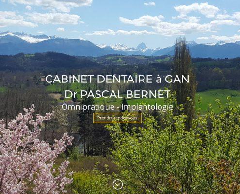 Site dentiste Gan