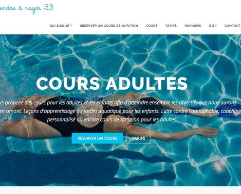 Site Cours de natation MNS