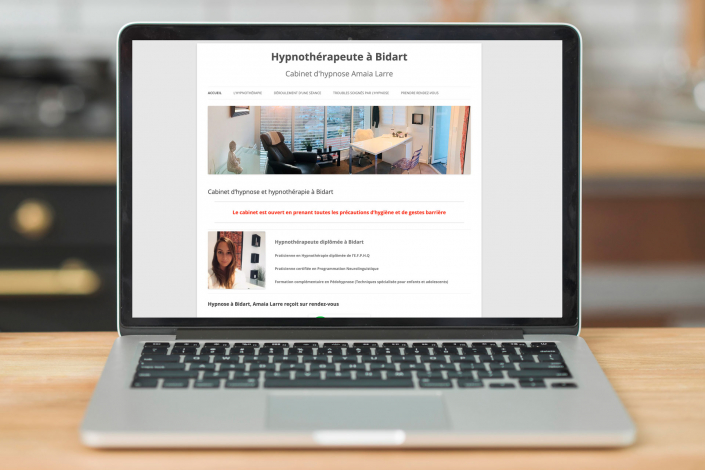 référence site internet hypnothérapeute