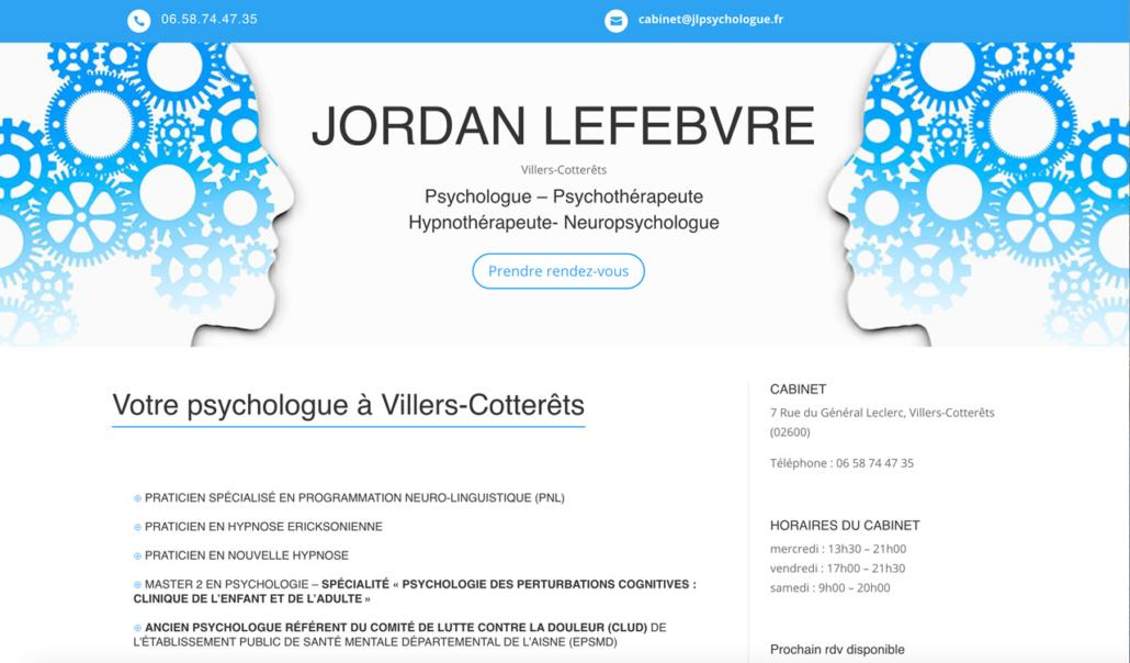 références site internet psychologue