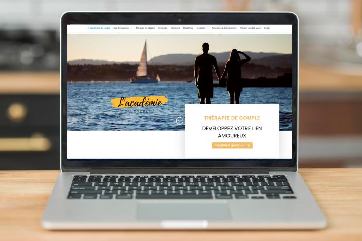 Exemple d'un site pour sexologue et coaching